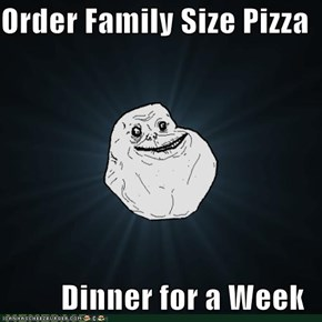 Order Family Size Pizza  Dinner for a Week