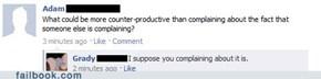 Counter-Counter-Counter Productive