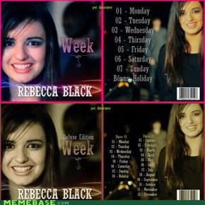 Rebecca Black's Full Tracklisting!