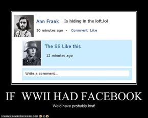 IF  WWII HAD FACEBOOK