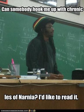 Rasta prof loves literature