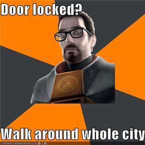 Gordon Freeman: Weak As Heck