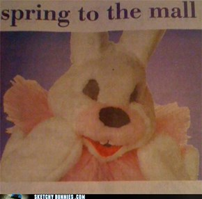 Sketchy Bunnies Will Watch Your Kids At the Mall
