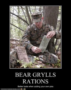 BEAR GRYLLS RATIONS