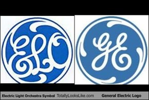 Electric Light Orchestra Symbol Totally Looks Like General Electric Logo