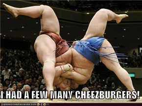 I HAD A FEW MANY CHEEZBURGERS!