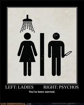 LEFT: LADIES, RIGHT: PSYCHOS