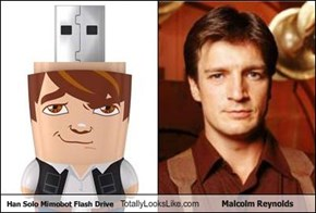 Han Solo Mimobot Flash Drive Totally Looks Like Malcolm Reynolds