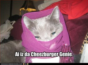 Ai iz da Cheezburger Genie.