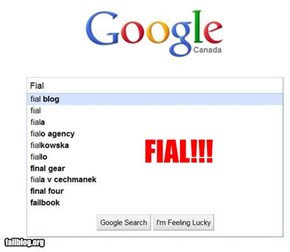 Autocomplete FIAL!