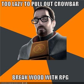 Gordon Freeman: An RPG in an FPS?