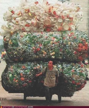 That's a Lot of Recycling...