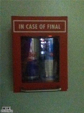 Finals Week Fuel WIN