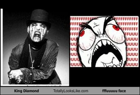 King Diamond Totally Looks Like fffuuuuu face