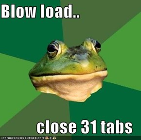 Foul Bachelor Frog: Instant Relief, Instant RAM