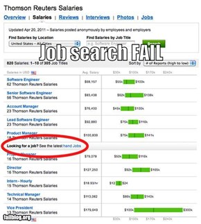 Job Search FAIL