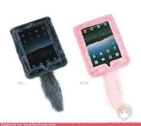 Fuzzy iPad Case
