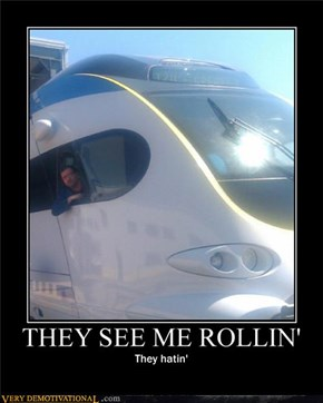 THEY SEEM ME ROLLIN'