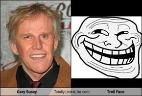 Gary Busey Totally Looks Like Troll Face