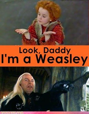 Draco Weasley?! What Sorcery Is This?!