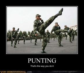 PUNTING