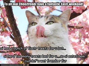 Happy Eastr Cheezfrendz