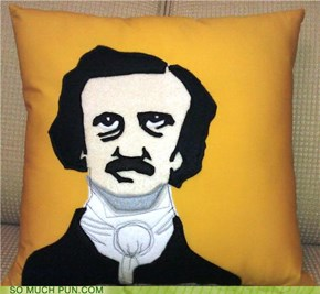 Edgar Allen Pillow