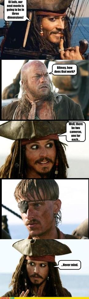 Captain Jack Makes a Faux Pas