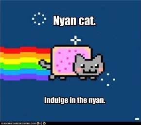 Nyan cat.