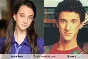 Jenna Rose Totally Looks Like Screech