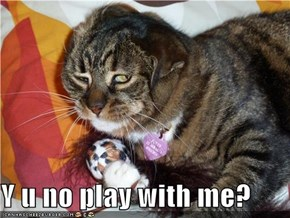 Y u no play with me?