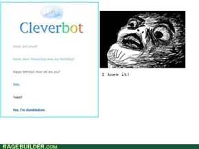 Cleverbot is Dumbledore!