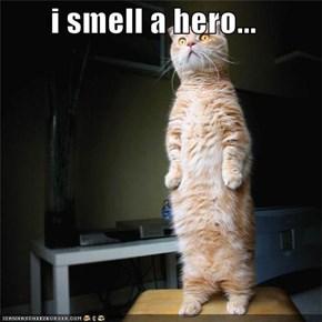 i smell a hero...