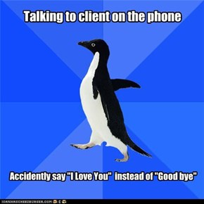 "Socially Awkward Penguin: ""Be Home for Dinner!"" ""...Okay"""