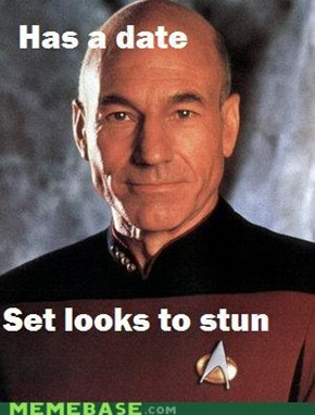 Picard's Got Swagger
