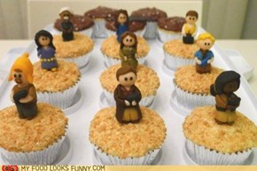 Firefly Cupcakes
