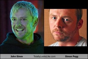 John Simm Totally Looks Like Simon Pegg
