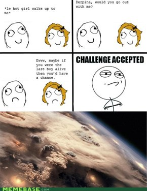 Rage Comics: Go Out with Me Pl0x?