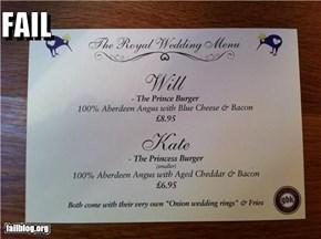 Royal Wedding Fail