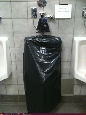 Pee on the Dark Side...