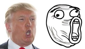 Donald Trump Totally Looks Like LOL Face