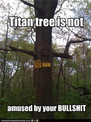Titan tree is not