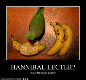 HANNIBAL LECTER?