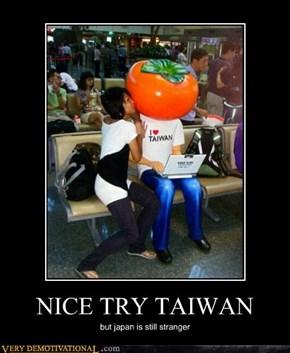 NICE TRY TAIWAN