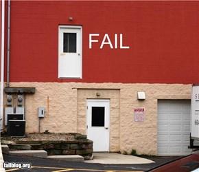 Doorway to Nowhere FAIL