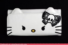 Angry Kitty Clutch