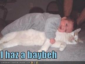I haz a baybeh