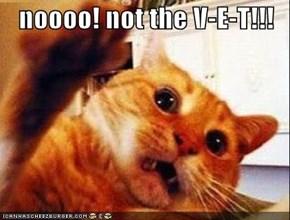 noooo! not the V-E-T!!!