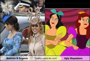 Beatrice & Eugenie Totally Looks Like Ugly Stepsisters