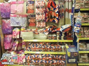 Royal Wedding merchandising FAIL